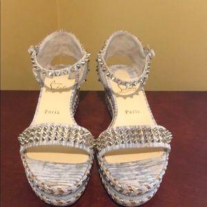 Christian Louboutin Madmonica Platform Sandals